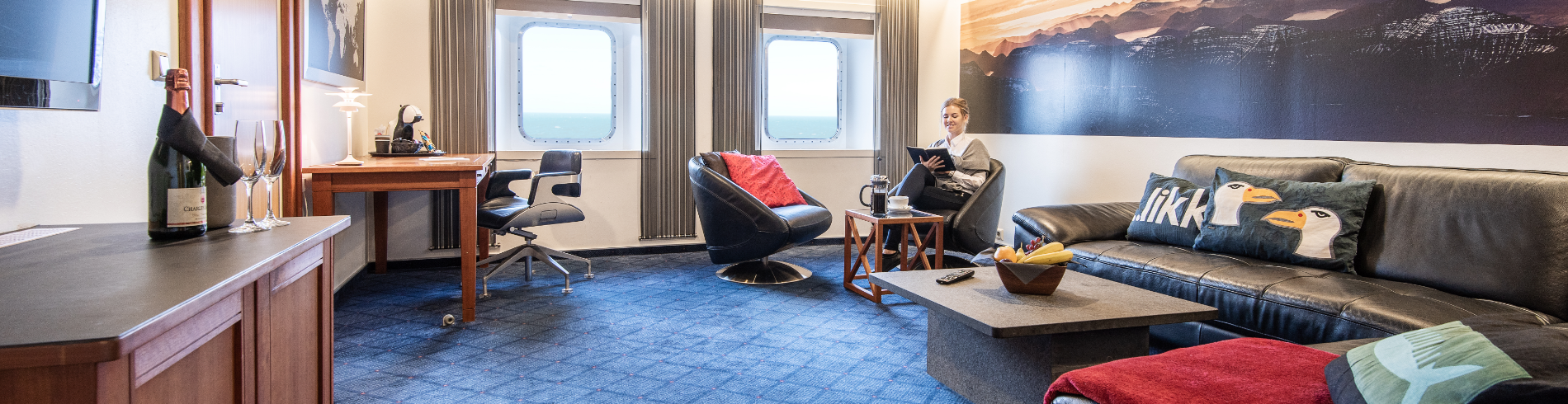 Cabins onboard cover image