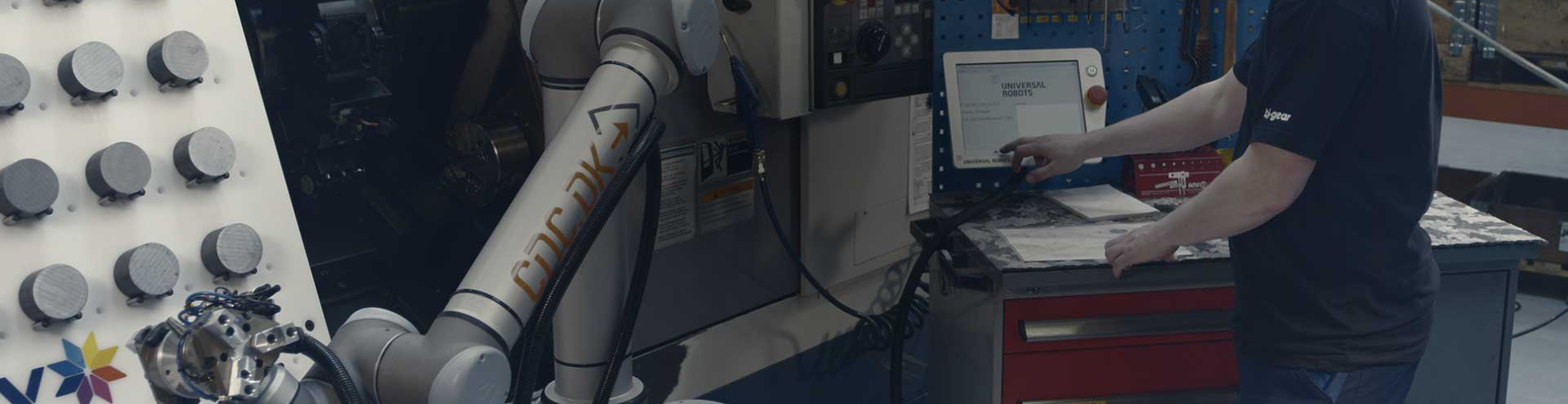 Universal Robots are used in thousands of production environments everyday cover image