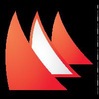 Dansk Sejlunions Mediebibliotek logo