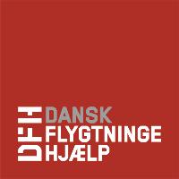 Dansk Flygtningehjælps mediebank logo