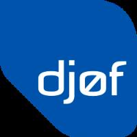 Djøfs mediebibliotek logo