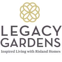 New Master Plan Community|Prosper|Prosper ISD|Homesites 80' & Larger|Legacy Gardens logo