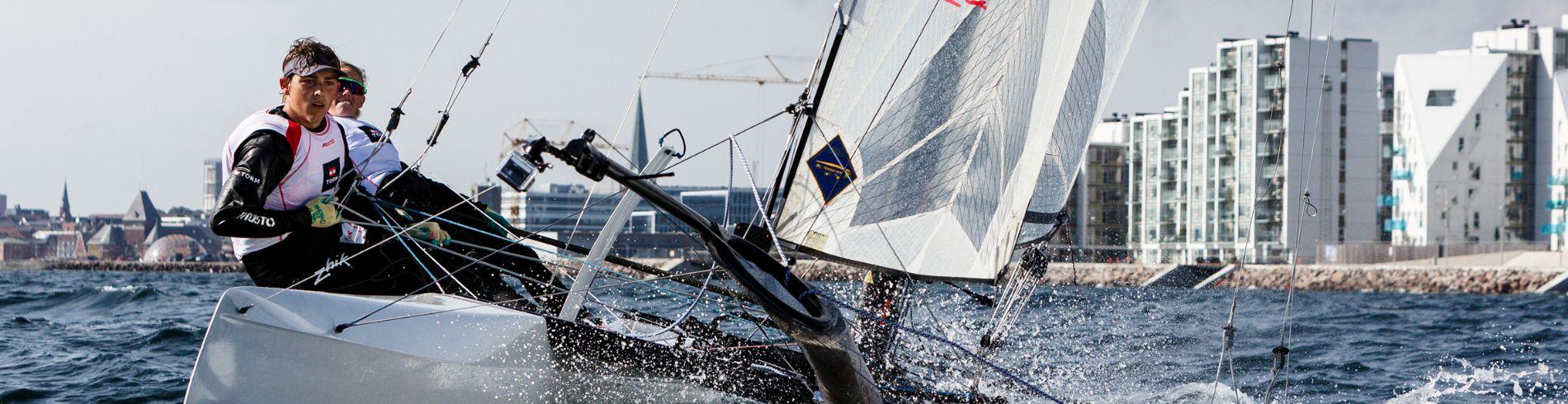 Hempel Sailing World Championships Aarhus 2018 cover image